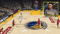 Stephen Curry Plays NBA 2K18 Against LeBron James GAMEPLAY (IF CURRY PLAYED NBA 2K18)