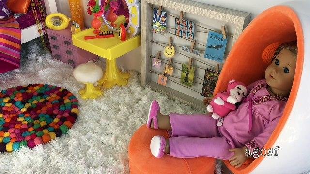American Girl Doll Julies Bedroom Haul