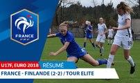 U17 Féminine, Tour Elite 2018 : France - Finlande (2-2), le résumé vidéo I FFF 2018