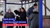 Secours populaire - bus solidaire en Eure-et-Loir