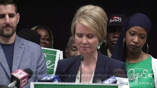Cynthia Nixon Cuomo is a bully who reminds me of T