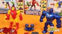 Iron Man vs. Iron Monger Mash Pack - Super Hero Mashers - Marvel - Hasbro - A9530 A8159