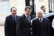Déclaration conjointe du Président de la République Emmanuel Macron et du Secrétaire général du Parti communiste de la République socialiste du Vietnam M. Nguyen Phu Trong.