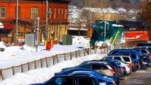 La puissance incroyable des trains chasse-neige