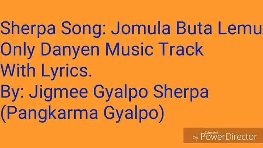 Jomula buta lemu Danyen music track with lyrics ( 360 X 640 )