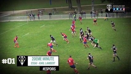 CA Brive Rugby vs ASBH Espoirs 2018 : Les essais de la rencontre.