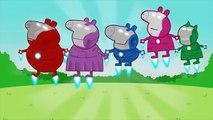 Peppa Pig Batman vs Superman Finger Family / Nursery Rhymes and More Lyrics