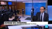 FRANCE 24''s Armen Georgian discusses NATO''s expulsion of Russian diplomats
