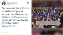 Attentats dans l'Aude : minute de silence et hommage à l'Assemblée.