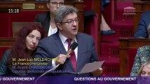 Mélenchon reçoit une rare ovation de LREM et LR pour son hommage à Arnaud Beltrame