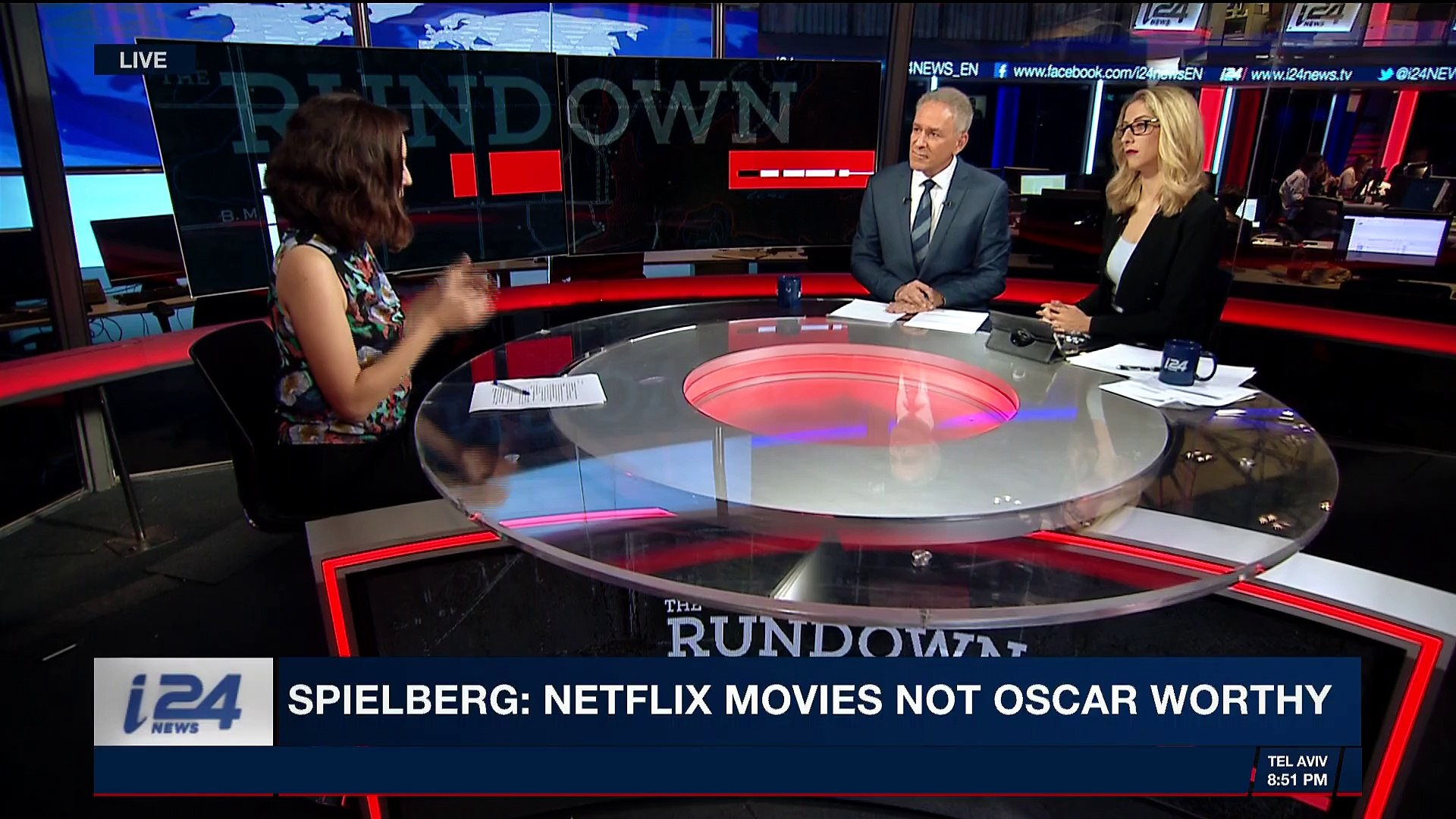 THE RUNDOWN | Spielberg: Netflix movies not Oscar worthy | Tuesday, March 27th 2018