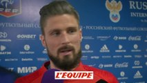 Giroud «Ce n'est pas inquiétant» - Foot - Bleus