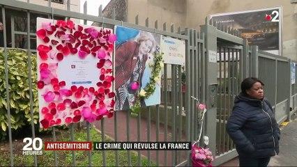 Antisémitisme : le crime qui révulse la France