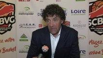 APRES-MATCH - Les entraîneurs après SCBVG / Nantes