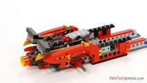 KAIs X1 NINJA CHARGER 70727 Lego Ninjago Rebooted Stop Motion Set Review