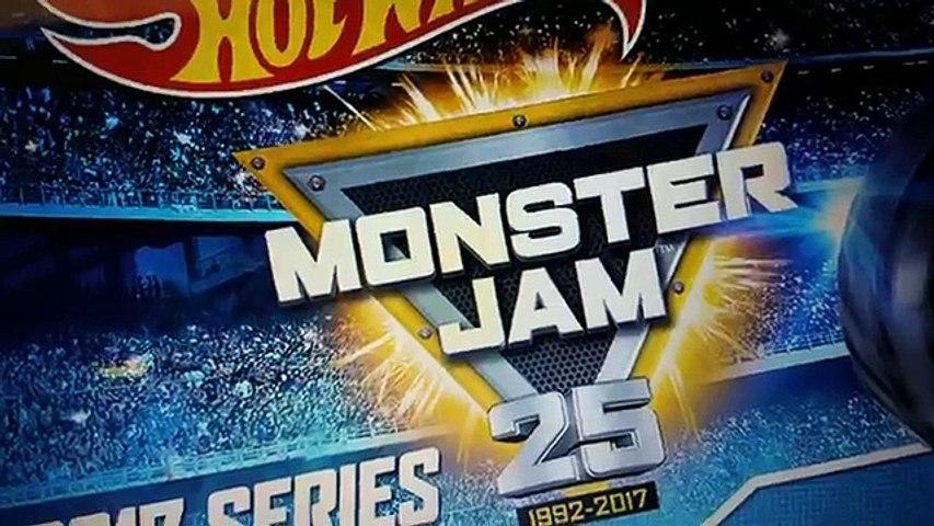 FULL 2017 Hot Wheels Monster Jam 1:64 Scale List Revealed!