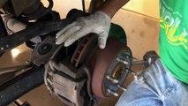 How to change GM Truck rear disk brakes- Silverado Sierra Tahoe Yukon Suburban