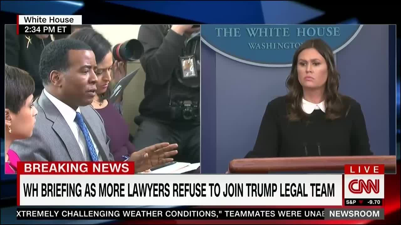 White House Press Briefing – March 27, 2018   Trump Remains Silent On Daniels
