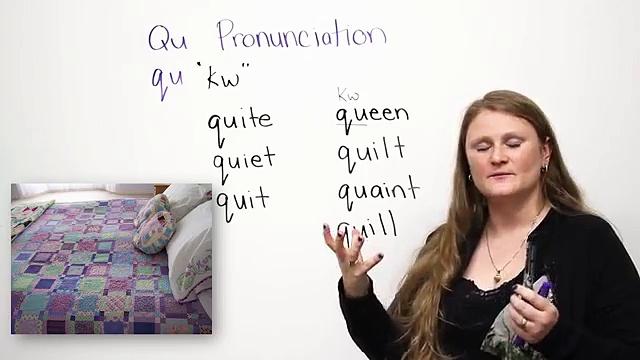 Pronunciation — QU