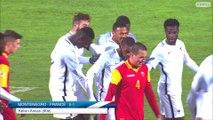 Espoirs : Monténégro-France (0-2), buts et réaction