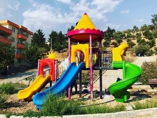 Çocuk oyun grubu ve çocuk parkları Gezegen X kent mobilyaları