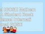 Edexcel IGCSE Mathematics A  Student Book 2  Edexcel International GCSE d784fa08