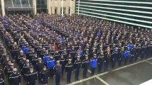 Les images de la minute de silence en hommage à Arnaud Beltrame