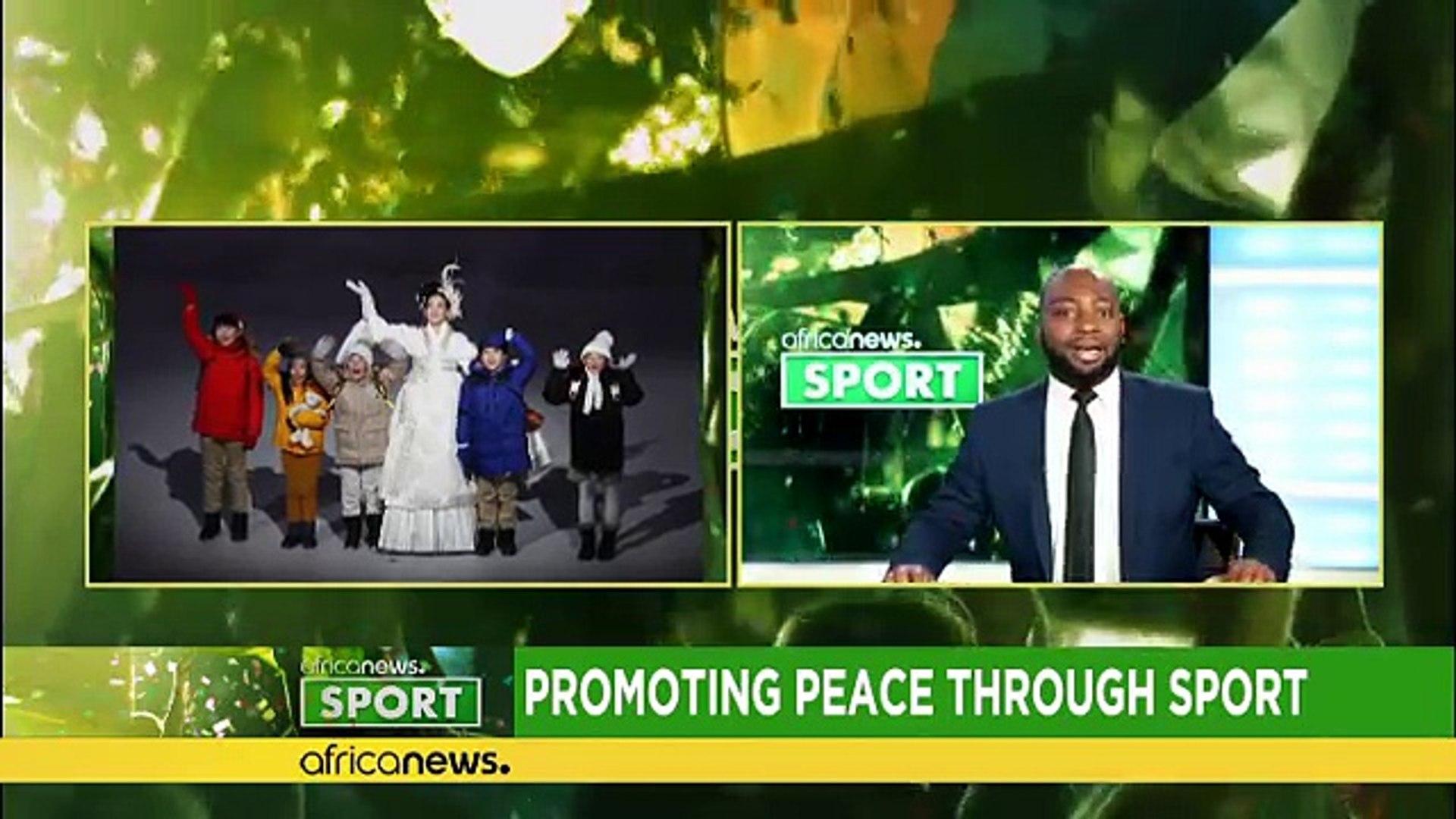 Promoting peace through sport [Sport]