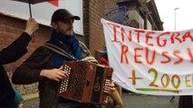 Tournai : Manifestation contre la fermeture du centre d'accueil de demandeurs d'asile