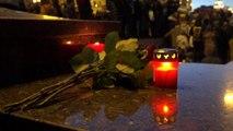 Russia, a Mosca l'omaggio alle vittime del rogo in Siberia