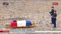 Emmanuel Macron élève le colonel Beltrame au grade de commandeur de la Légion d'honneur