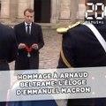 Hommage à Arnaud Beltrame: L'éloge d'Emmanuel Macron au colonel