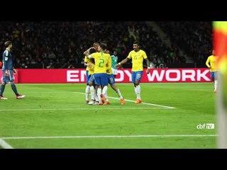 Bastidores de Brasil 1 x 0 Alemanha em Berlim