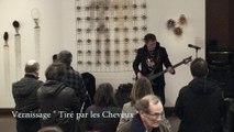Pascal Mulot, bassiste - Vernissage exposition Tiré par les cheveux