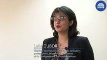 IGPDE CHEDE 2017 - témoignage de Leila DUBOR, directrice commerciale multi-canal particuliers professionnels, direction des opérations et du développement territorial de la Poste