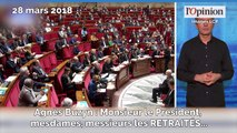 Un lapsus d'Agnès Buzyn provoque un énorme fou rire à l'Assemblée