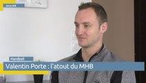 Reportage Vià Occitanie - Valentin Porte, l'atout du MHB