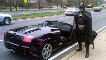 Maryland 'Batman' dies after being struck by car