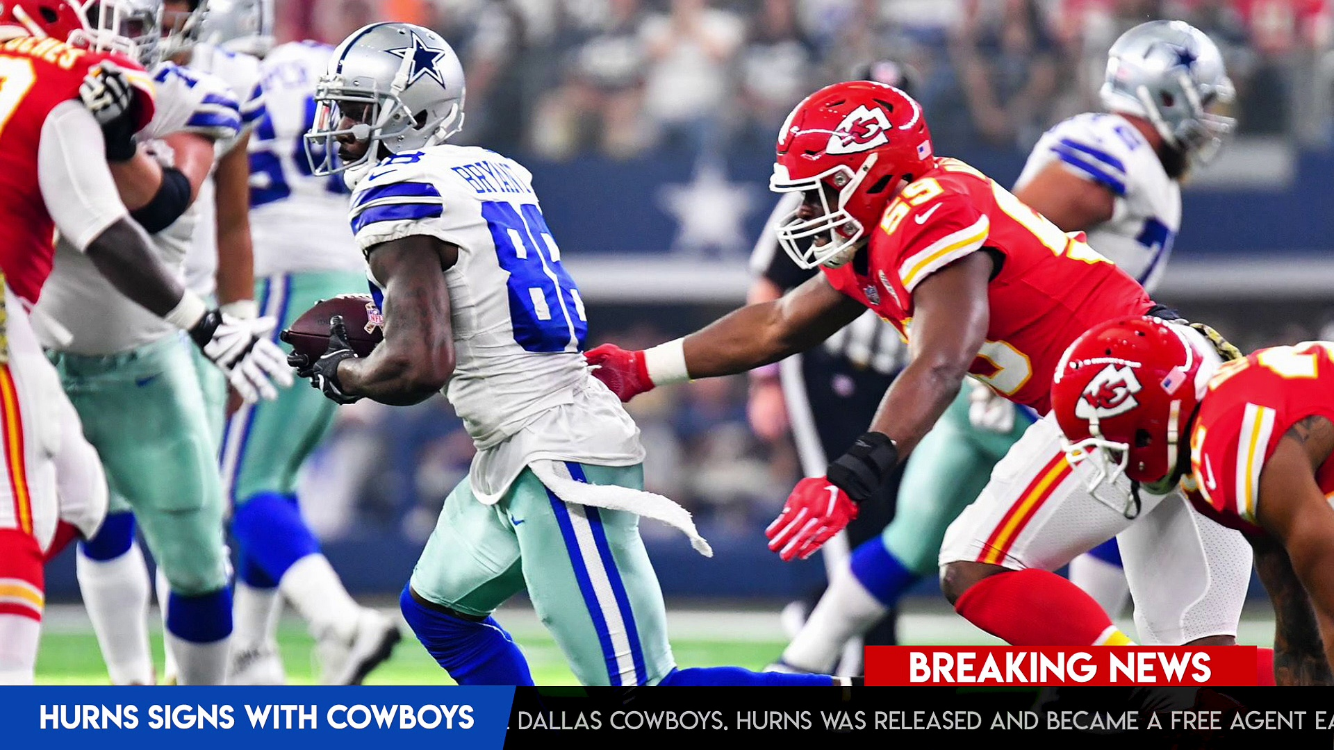 Dallas Cowboys Free Agency Report:  Allen Hurns Signs Two Year Deal With Cowboys