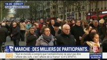 Ce que l'on sait sur l'exfiltration de Jean-Luc Mélenchon de la marche en hommage à Mireille Knoll