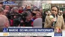 """Marche pour Mireille Knoll: Delphine Horvilleur, rabbin, retient le """"sentiment d'émotion important"""""""