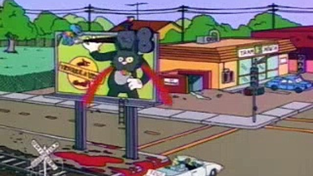 The Simpsons S04 E06 Itchy  amp  Scratchy  The Movie