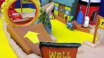 SpongeBob SquarePants Toys Sponge Bob Boating School Track