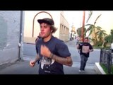 Justin Bieber Caught RUNNING As Is Chased BY Paparazzi | Hollywood Buzz
