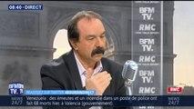 """SNCF: """"La grève peut se régler vite si la situation des usagers et des cheminots est prise en compte"""", assure Philippe Martinez"""