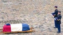 «Le nom d'Arnaud Beltrame est devenu celui de l'héroïsme français», salue Emmanuel Macron