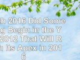 Zenith 2016 Did Something Begin in the Year 2012 That Will Reach Its Apex in 2016 7d8a58d0
