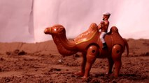 DESERT HERO CAMEL- Walking, Dancing & Musical Camel,Hands of Man Swings,Tail of camel swings