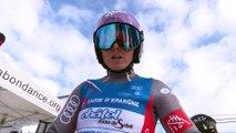 FFS TV - CHATEL - Championnats de France de Ski Alpin - Géant Dame - Manche 1 - Mars 2018
