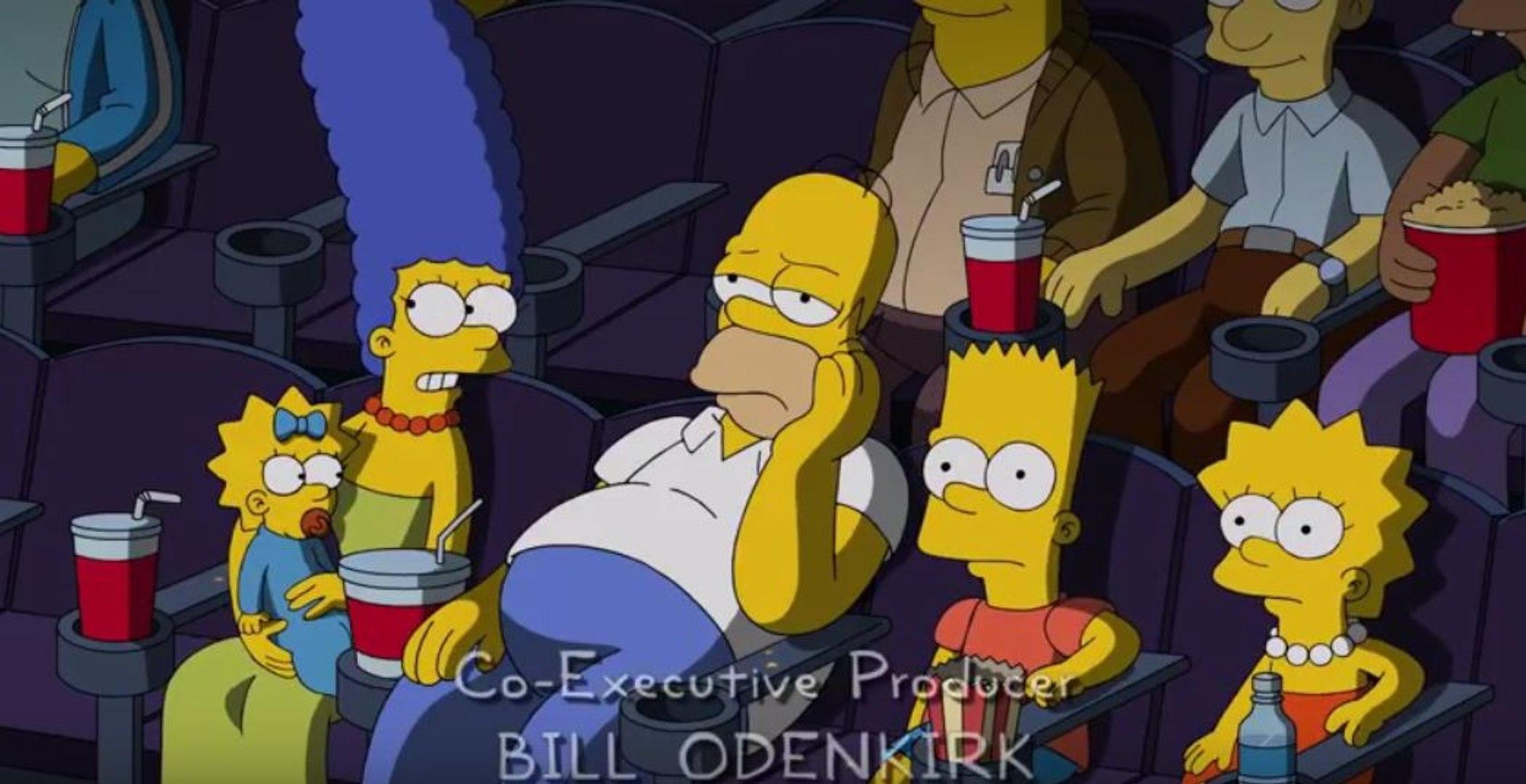 Simpsons Parodies Avengers & Marvel Post Credit Scenes